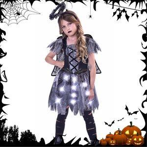 Other - NWT Dark Fallen Fairy Girl's Halloween Costume